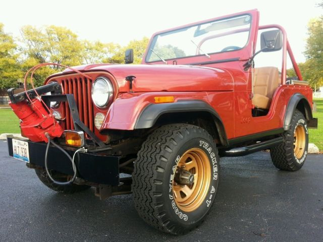 79 Jeep Cj5 Golden Eagle 2nd Owner V8 20k Original Miles 304 V8 3 Speed Manual Jeep Cj Jeep Cj5 Jeep