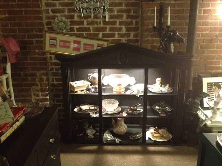 Look At The China Hutch Cabinet Top We Turned Into A