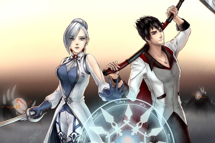 Winter and Qrow by sarahlrn.deviantart.com on @DeviantArt