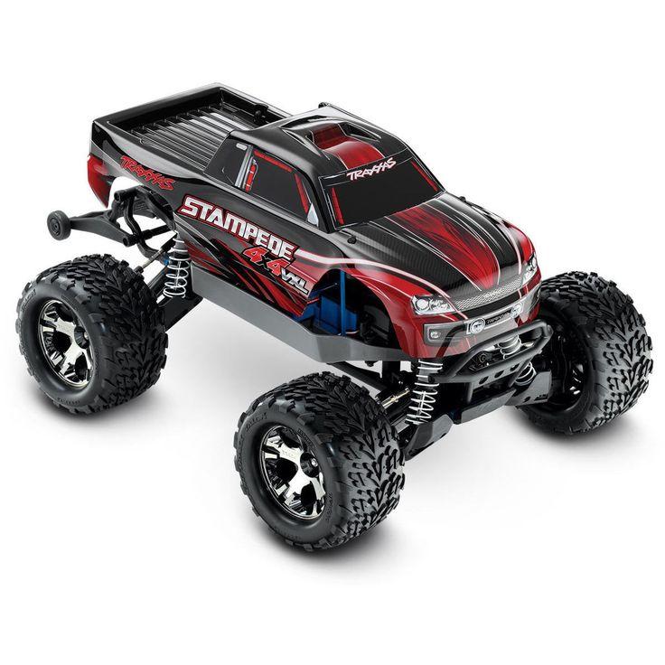 Traxxas Stampede VXL 0.1 4x4 Monster Truck w/ TSM 67086-3
