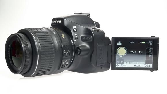 Nikon Digital SLR Cameras DSLR (D5100) With VR Kit  The Nikon D5100 is equipped with a variety of features that can help during photography sessions spanning a range of conditions and situations. Functions like the Horizontal Swing mode add a level of flexibility to the abilities of a photographer.