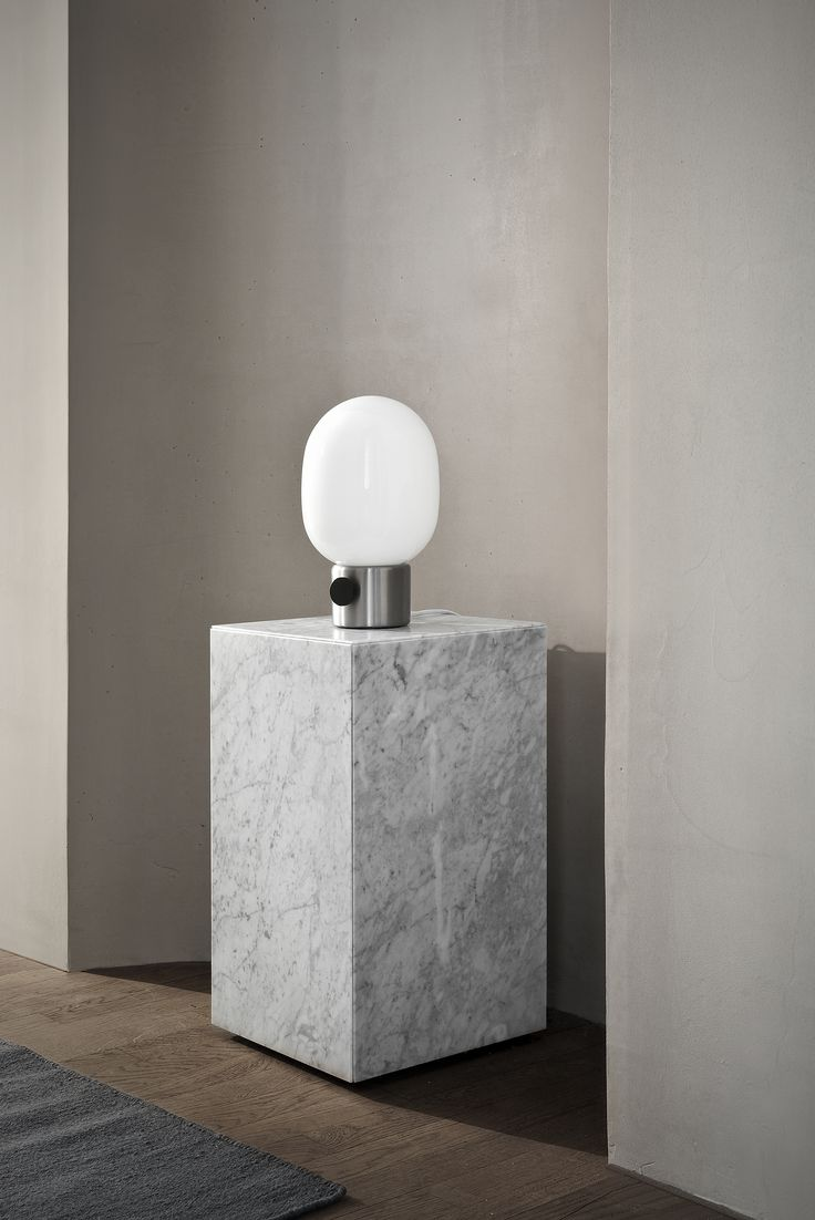 MENU Marble Plinth, JWDA Metallic Lamp, Location Shoot, Ouur Studio, Kinfolk