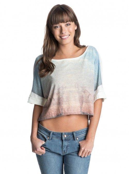 Roxy Sand Step Tshirt T Shirt | Shirts, Tops and Clothing