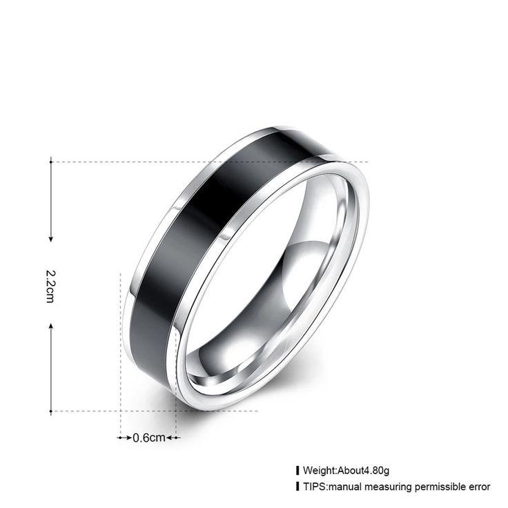 R020 A 8 НОВЫЙ День отца Мода titanium цветные стальное кольцо женщины мужчины унисекс лучший подарок покрытием filled вольфрамакупить в магазине yimingwei-jewelry StoreнаAliExpress