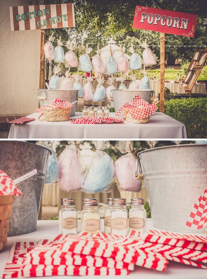 Check Out This Amazing DIY Carnival Wedding