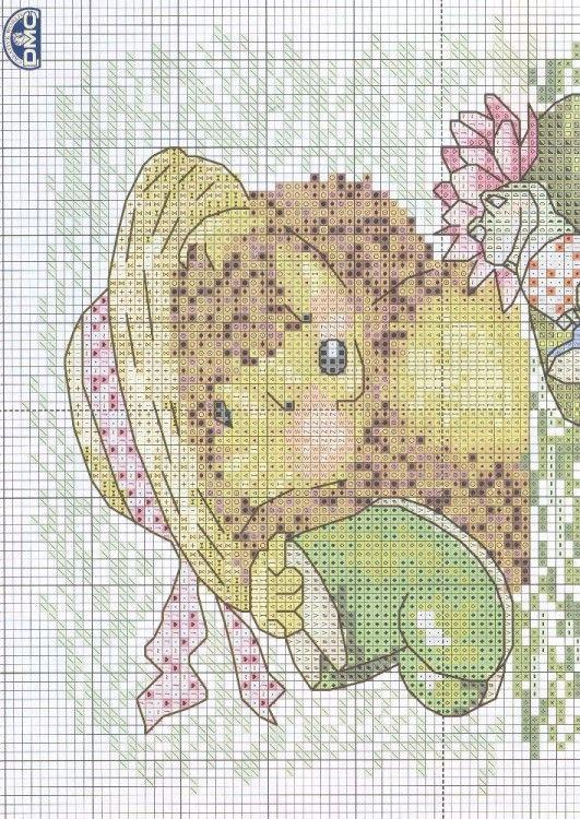 hedgehog w/frog 1