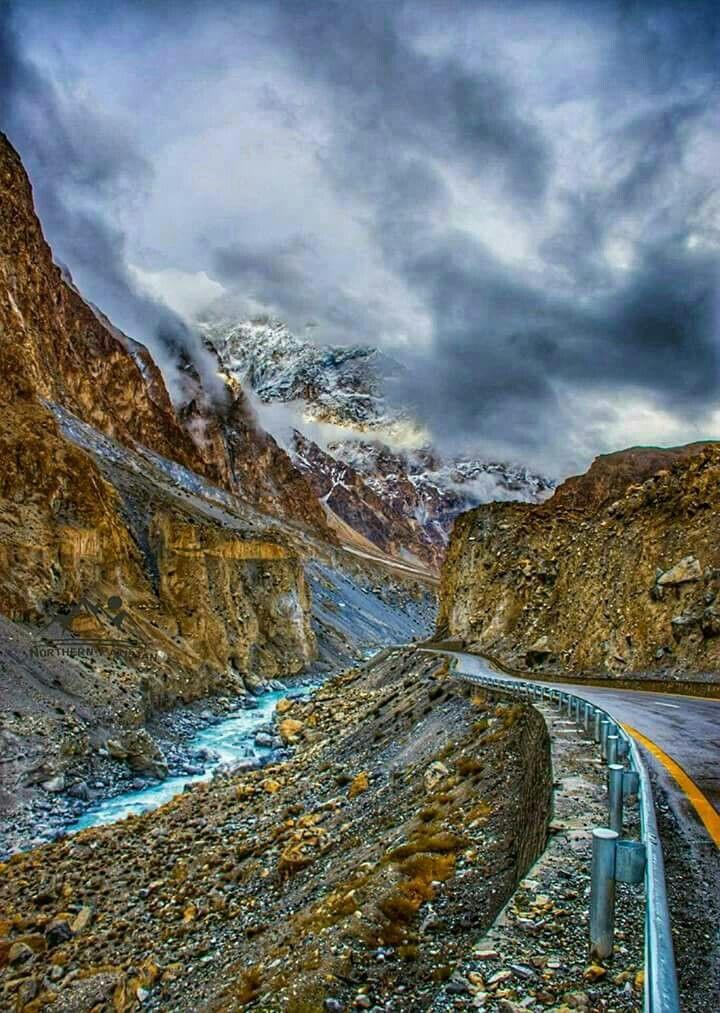 Beautiful Karokaram Highlway