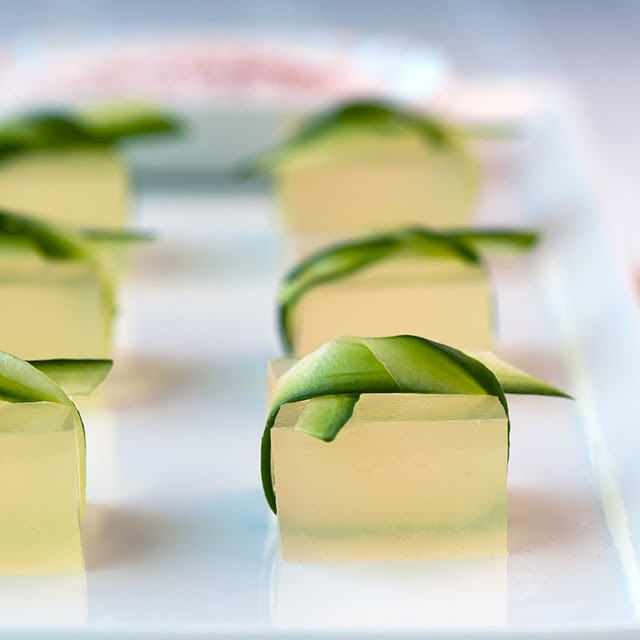 Cucumber Lime Margarita jello shot. uh. yes. | Booze ...
