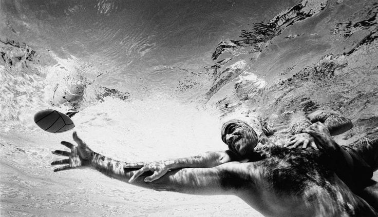 Waterpolo - #muscles #men #hairy #fitness #sports #water #pool #balls #swimming #chest #sexy #speedo