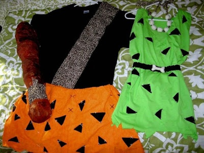 See Sarah's Style : Pebbles and Bamm Bamm Costumes