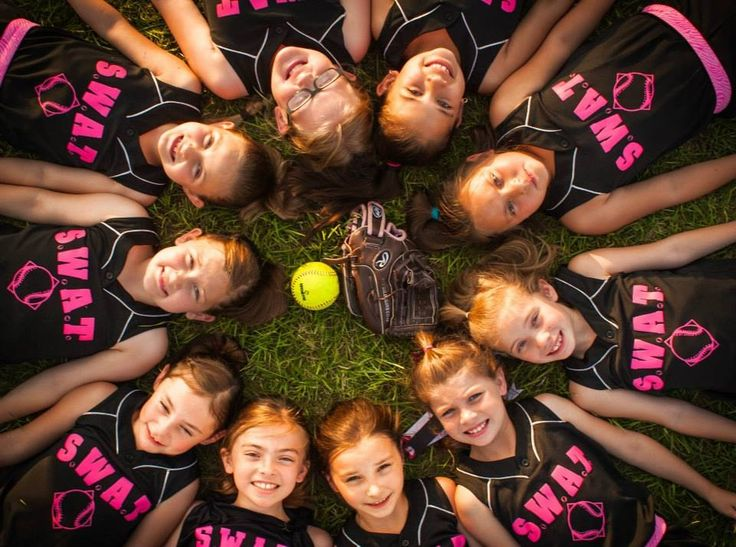 Softball team photos by me ^_^