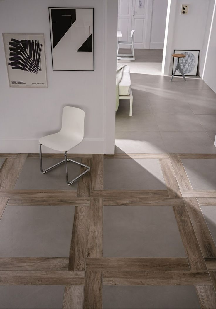 This would look amazing done in wood and limestone uniquefloors