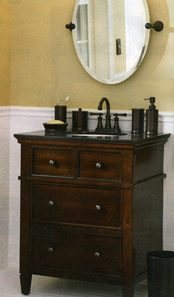 Create Photo Gallery For Website This is the vanity for our new basement bathroom Its by Allen u Roth