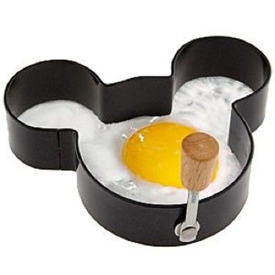 Disney Home and Kitchen Breakfast Mickey Mouse Egg Ring Cooking Tool - Kids Love