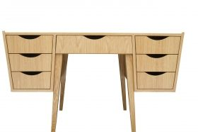 B.T. Meble | Meble, lata 60-te, PRL, vintage, stoły, lite drewno