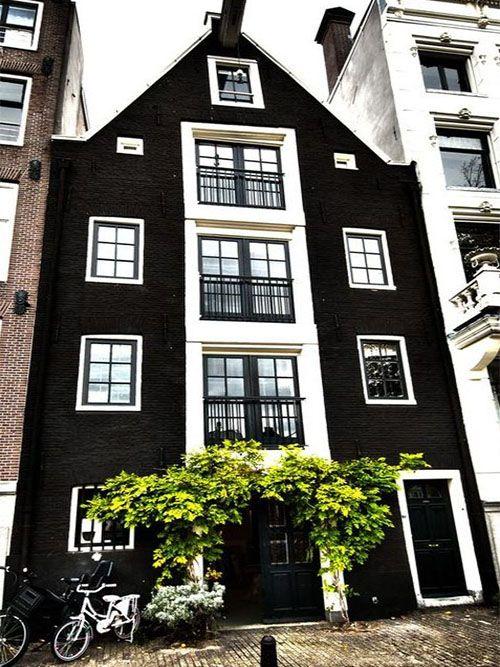 #veronikamaine #black #inspiration #amsterdam #building