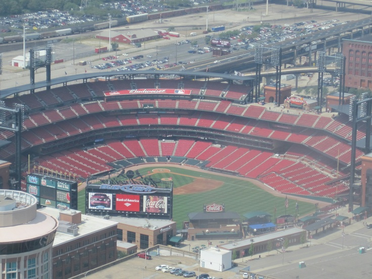 Bush stadium from the Arch!