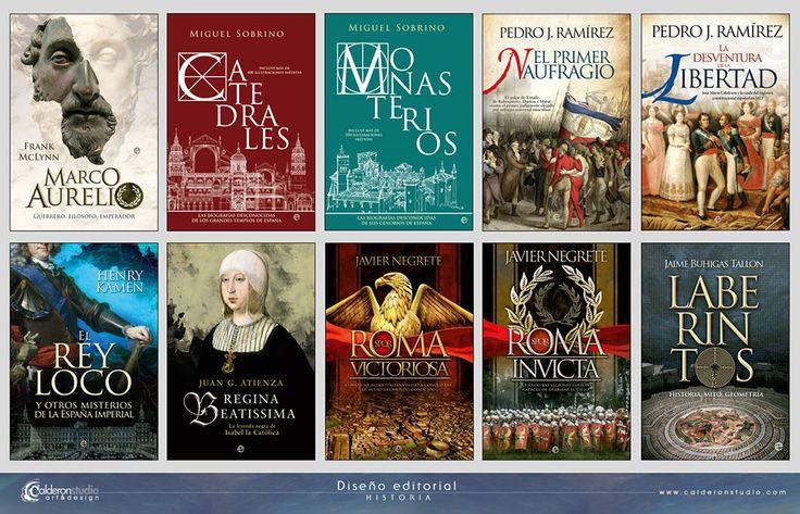 CalderonSTUDIO Portafolio Diseño editorial Historia