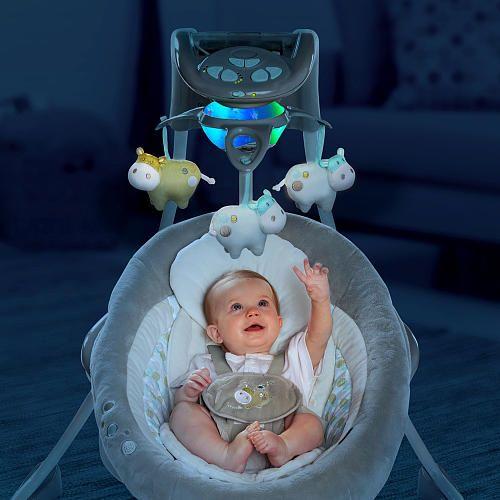 ingenuity inlighten cradling swing manual