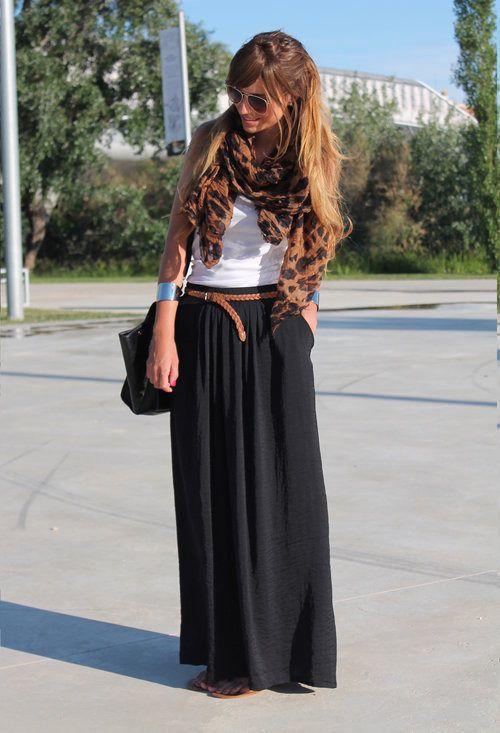 27 best images about trending: maxi skirt on Pinterest | Brown ...