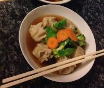 Gluten free prawn dumplings