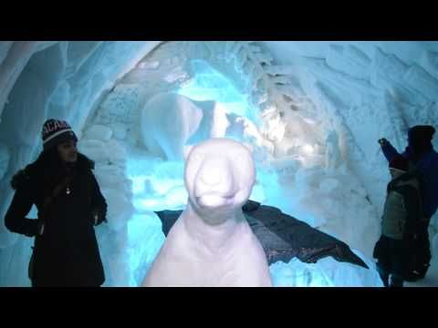 HOTEL DE HIELO, Quebec, QC, 2016 - YouTube