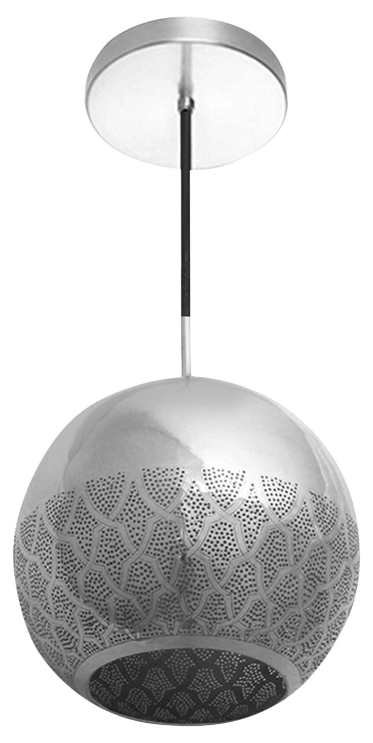 Buy Nur Reversed Moroccan Pendant Light by Dounia Home - Made-to-Order designer Pendants from Dering Hall's collection of Contemporary Industrial Mid-Century / Modern Transitional Lighting.