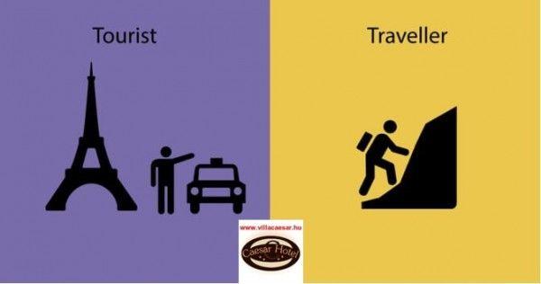 Ön #utazó vagy #turista ? Bizonytalan ? Segítünk a meghatározásban...