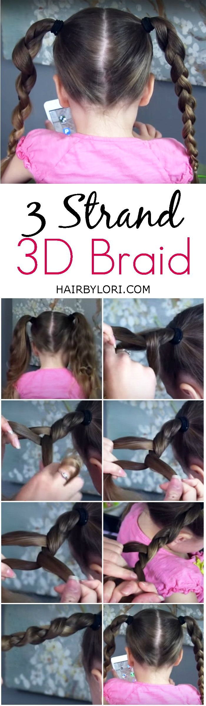 Video Tutorial 3 Strand 3D Braid