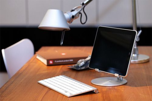 The most beautiful iPad stand ever . . . guess I need to buy an iPad first . . .