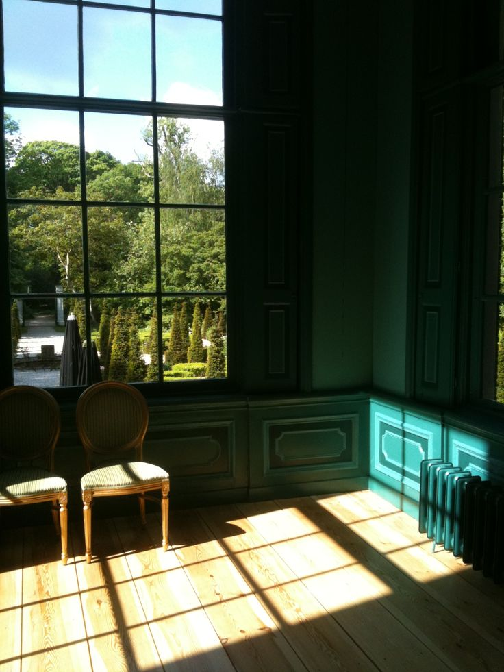 Interieur - Huize Frankendael. Kleurstelling