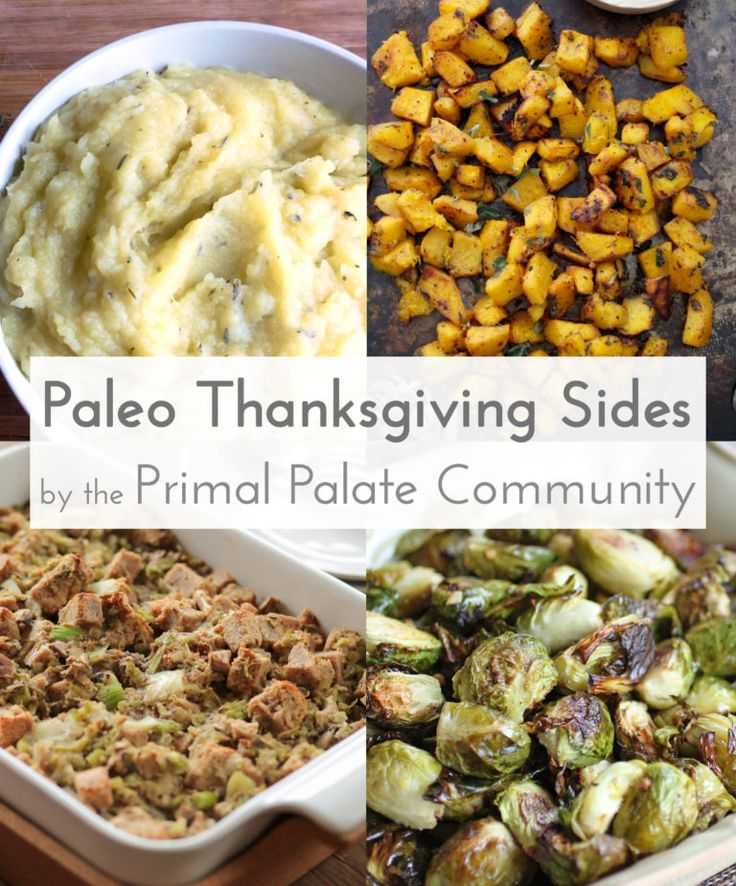 Paleo Thanksgiving Side Dishes - Recipe Roundup