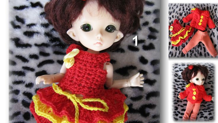 Pieces of clothing on the Fairyland pukifee ante 1/8 bjd free shipping by Shopdollwithowl on Etsy