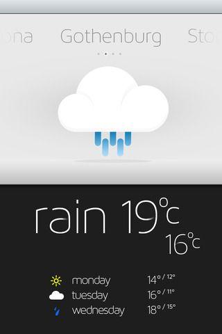 날씨 응용 프로그램 디자인