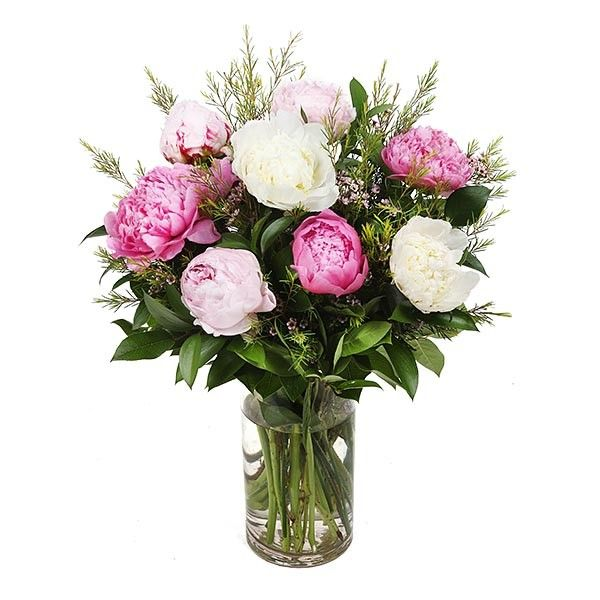 PlantShed   Charming Pink Peonies   Flower Delivery NYC   Summer's favorite flower! Hot pink peonies.