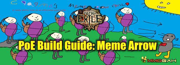 Path Of Exile Build Guide Meme Arrow Memes Arrow Building