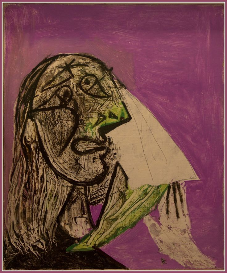 Pablo Picasso La femme qui pleure Dora Maar