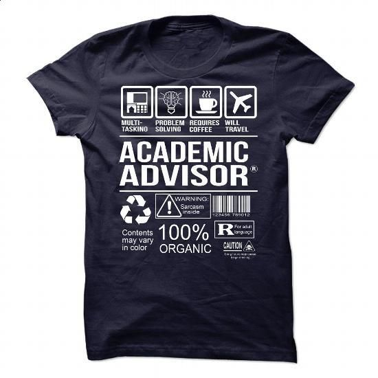 Awesome Tee For Academic Advisor #tee #hoodie. CHECK PRICE => https://www.sunfrog.com/No-Category/Awesome-Tee-For-Academic-Advisor-91137762-Guys.html?60505