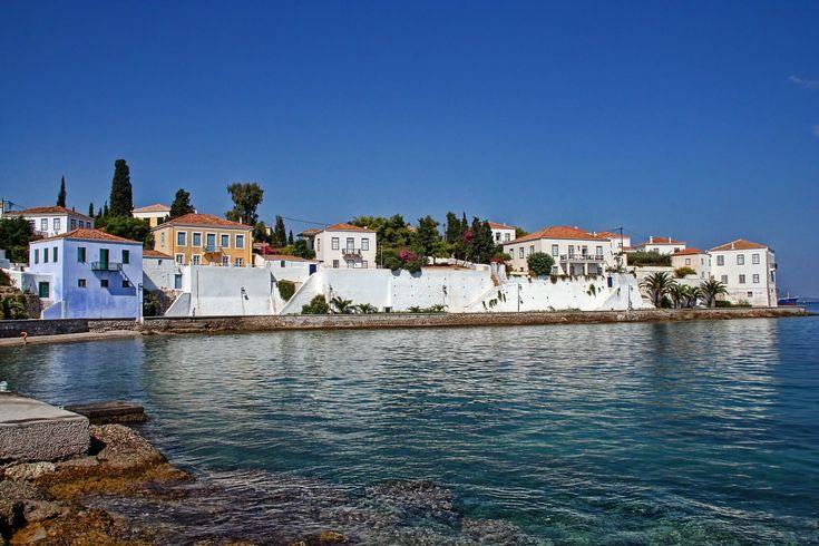 Spetses Adası Deniz