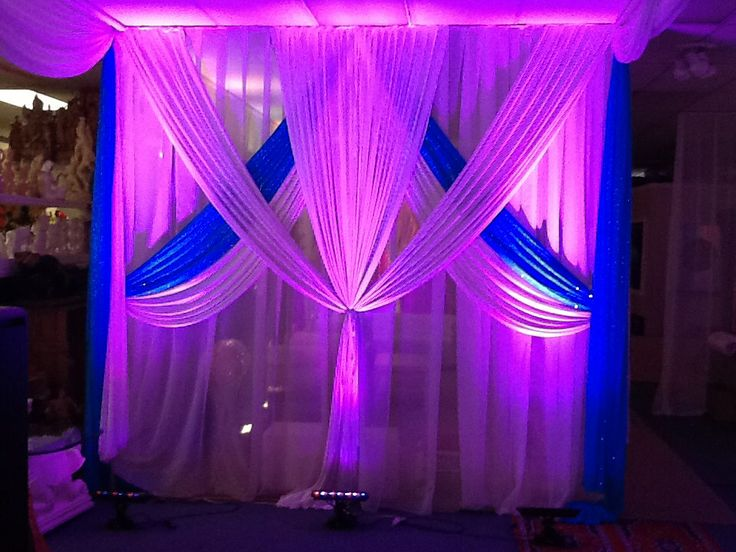 Touch Of Elegance Ny Mandaps And Stage Decor With White