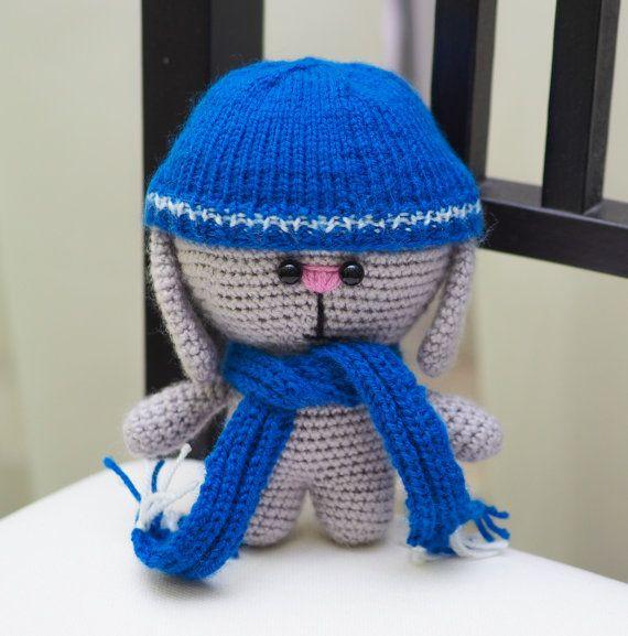 Rabbit. Bunny. Rabbit handmade. Bunny handmade. от handmadetoysrus