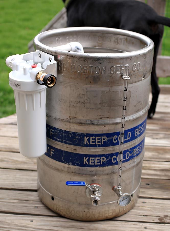 Home Water Filter >> Home Depot DIY Water Filter - Home Brew Forums | Homebrewing | Pinterest | Water filters, Filter ...