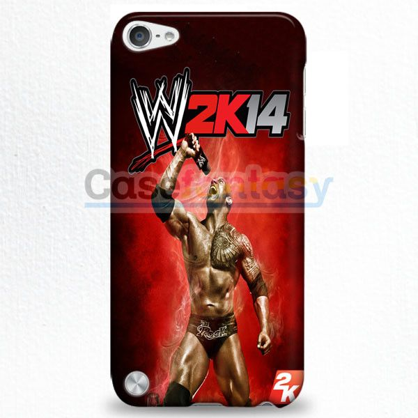 Wwe2K14 The Rock Gameplay iPod Touch 5 Case   casefantasy