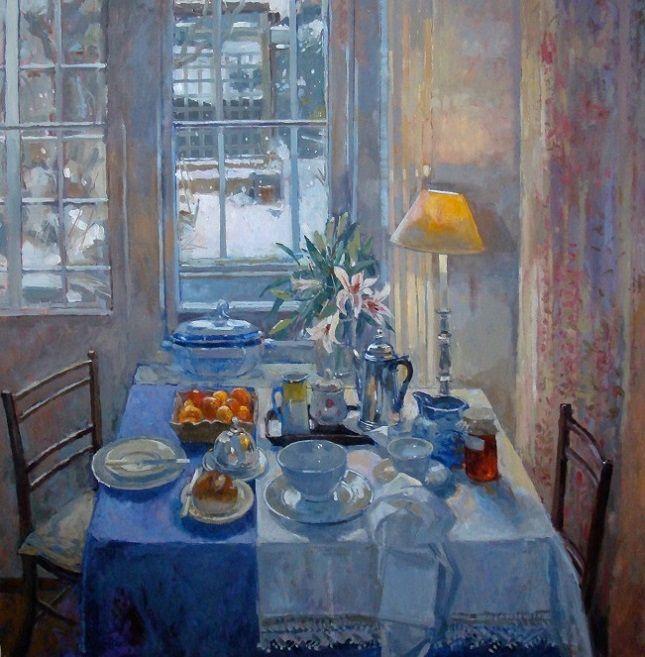 + Breakfast in the Studio, Winter (645x657, 453Kb)