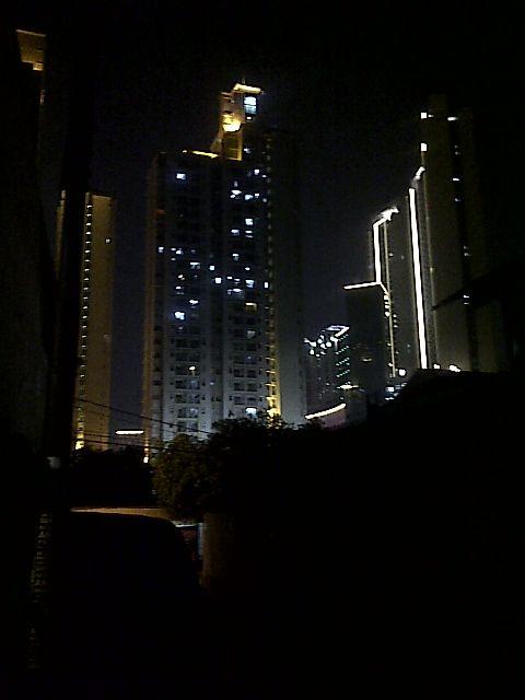 Grogol night city