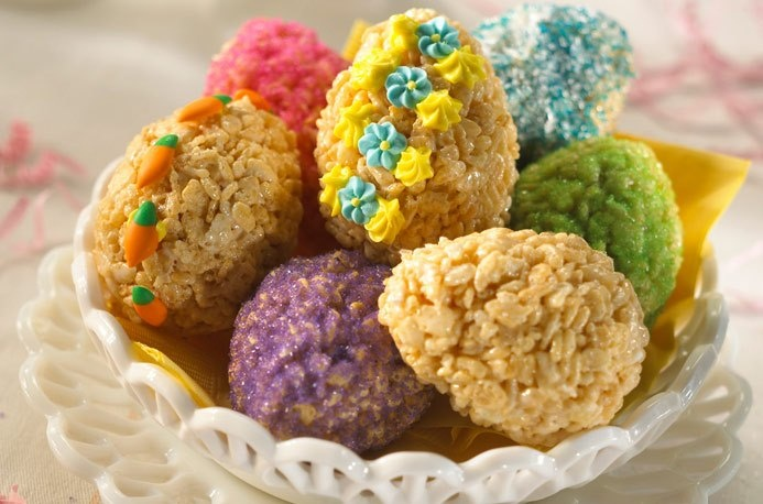 Easter Egg Rice Krispies