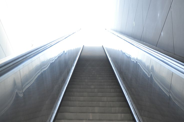 Rolltreppe in der U-Bahn Station Hafen City Universität, Foto by http://www.christian-rasch.de/