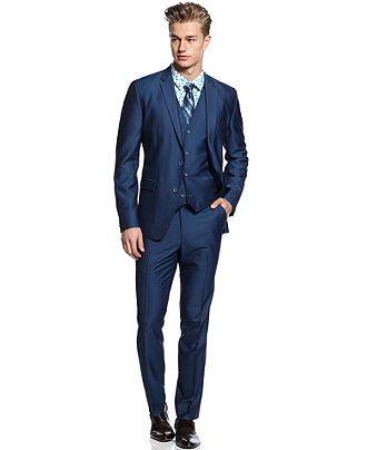 American Rag 3 Piece Suit, Sheen Suit - Suits & Suit Separates