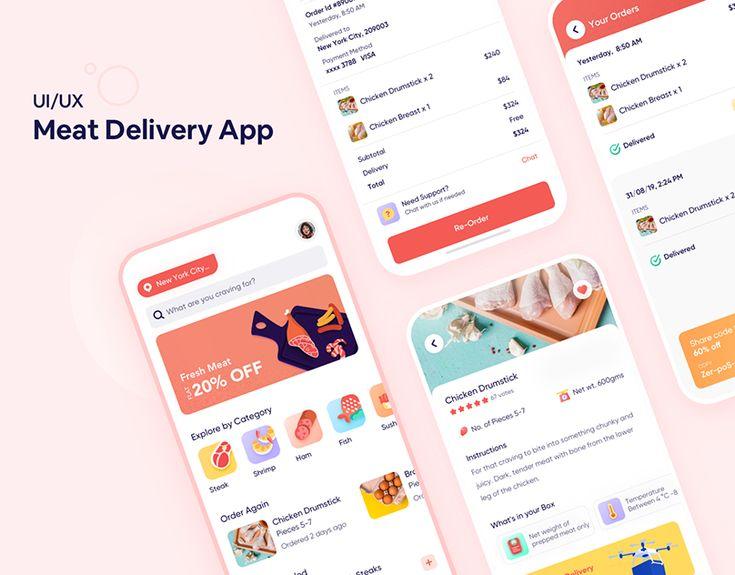 Uber Works OnDemand Staffing App on Behance ウェブデザイン, デザイン
