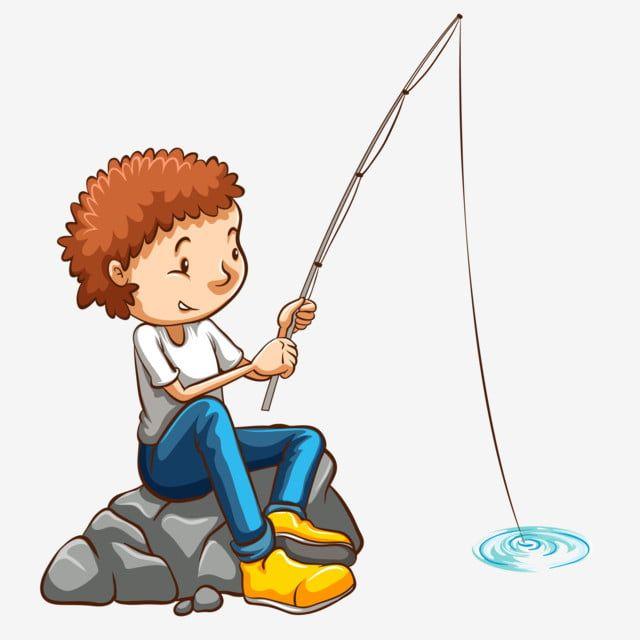 Fishing Cartoon Character Hand Drawn Character Little Boy Fishing ภาพต ดปะ Boy ประมง ต วการ ต นภาพ Png และ เวกเตอร สำหร บการดาวน โหลดฟร Rybalka Malchiki Illyustracii Illyustracii